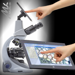 microscop digital cu tableta
